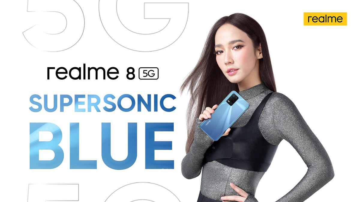 Realme 8 5G Supersonic Blue Variant teased, reported detected in Google Play Console listing