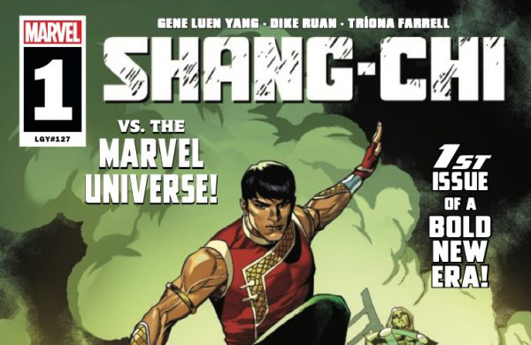 Comic book preview - Marvel's Shang-Chi # 1