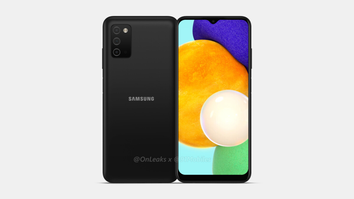 Rendering of Samsung Galaxy A03 and key data leaked