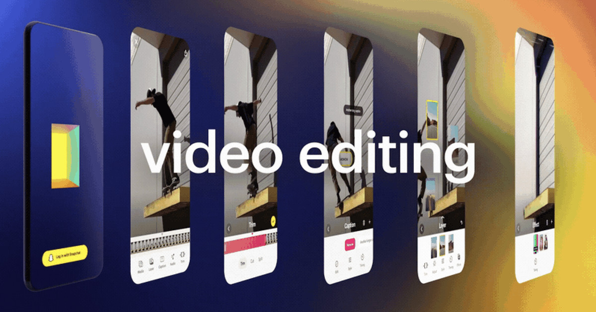 Snap will launch a separate iOS video editing app called Story Studio later this year