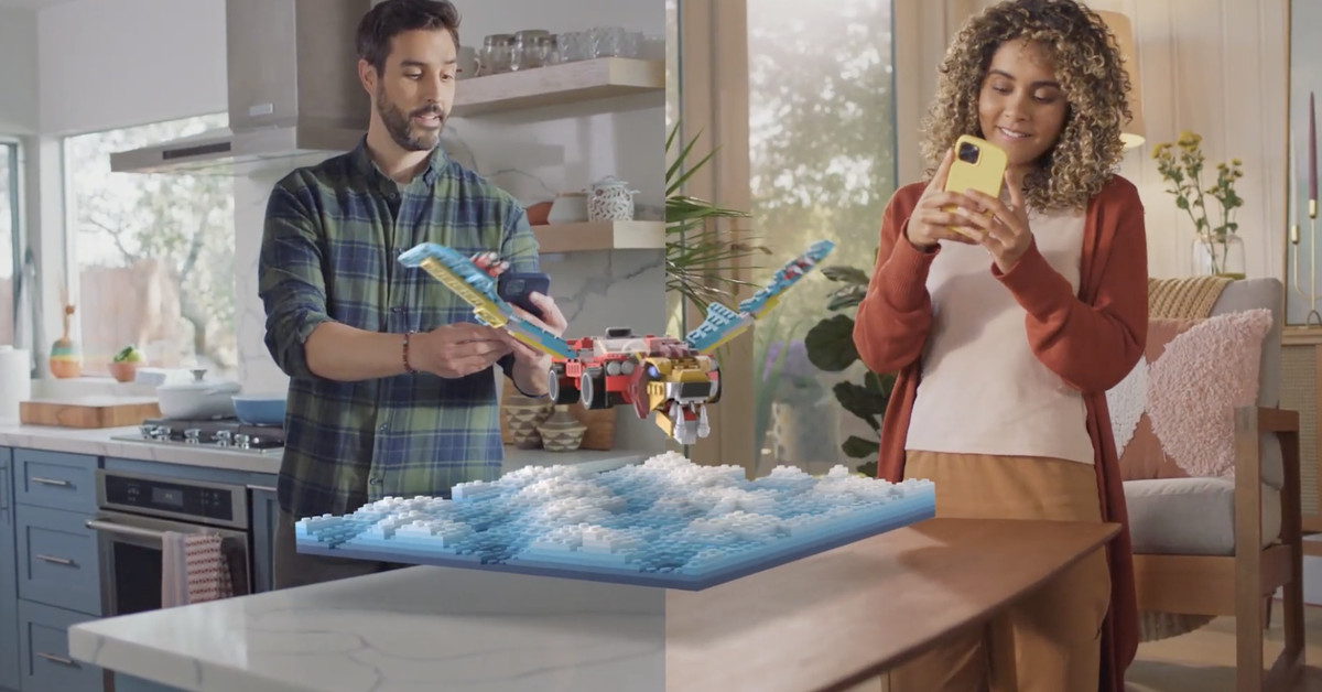 Snapchat gets augmented reality Legos that you can build with a friend