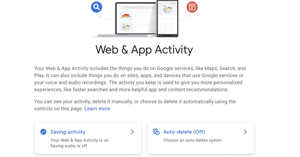 Google now lets you password protect a page that shows all searches