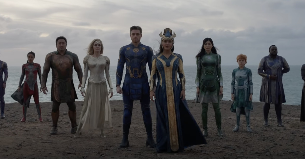 Chloé Zhao's Eternals 'first full trailer promises an era-wide epic from Marvel