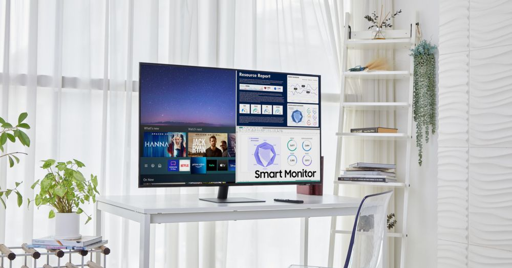 Samsung is releasing larger and smaller versions of the TV-type Smart Monitor