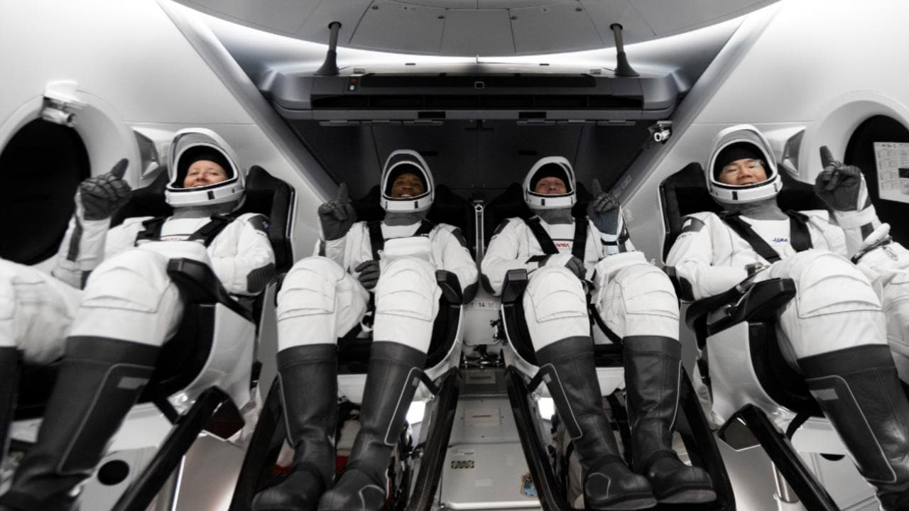 SpaceX Crew-1 astronauts refine landing at night - Technology News, Firstpost