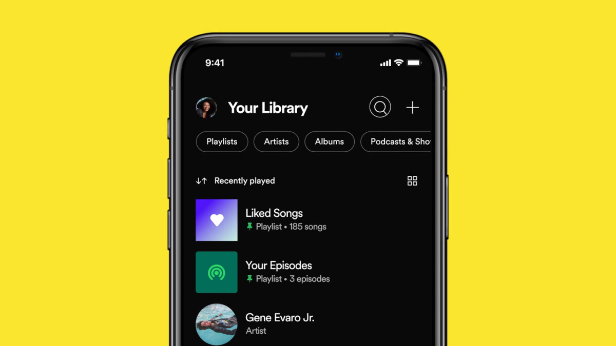 Spotify introduces library redesign on Android and iOS