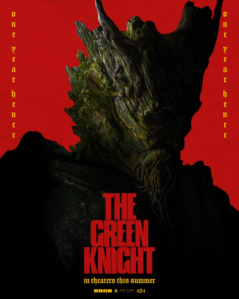A24 publishes six posters The Green Knight