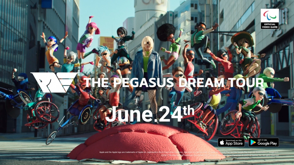 The first Paralympic game, The Pegasus Dream Tour, will arrive on mobile phones in June