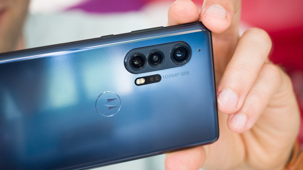Motorola's actual 2021 flagship camera data may already have been revealed