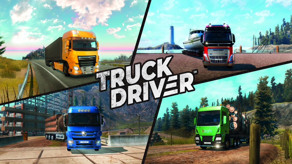 The truck driver is now available at Steam and Epic Games Store stores