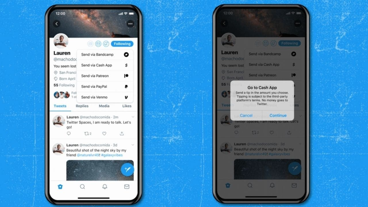 Twitter now allows users to add jars of virtual hints to their accounts so others can support their tweets- Technology News, Firstpost