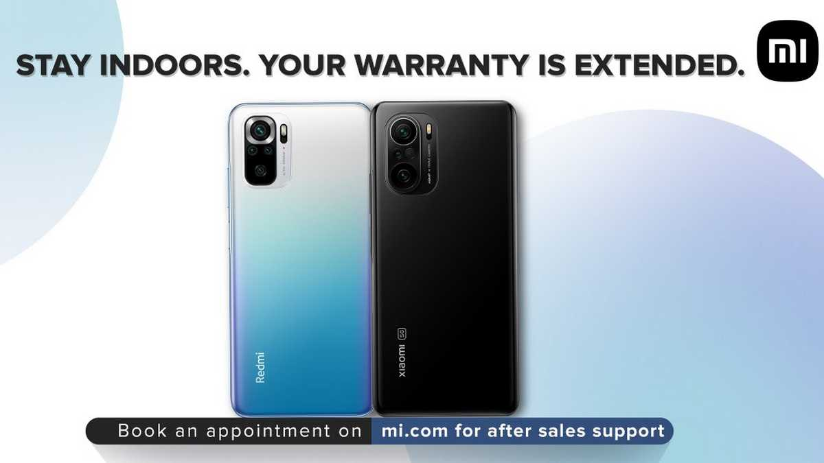 Xiaomi extends warranty in India by 2 months for COVID-19 locks ending in May, June