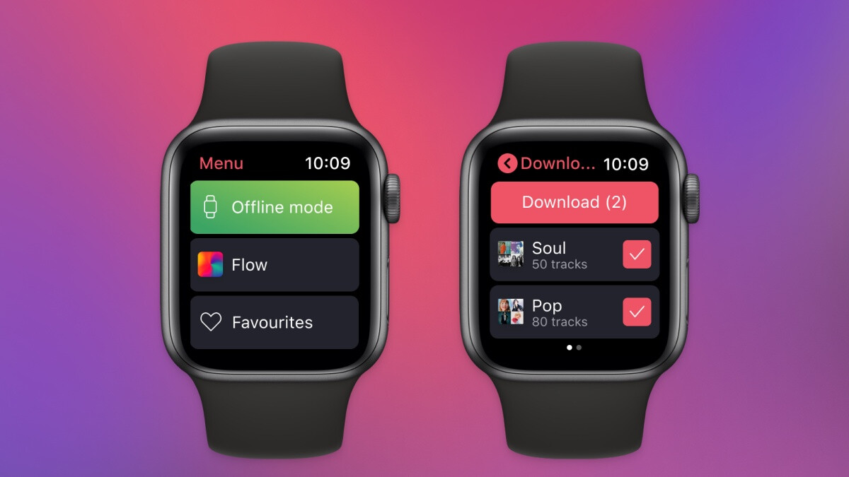Another streaming service beats Spotify's Apple Watch for offline listening