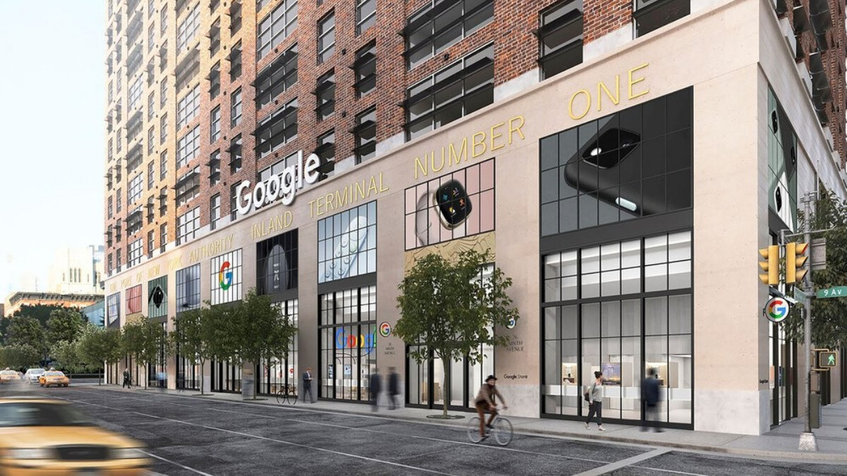 You've heard of Apple Stores, now get ready to visit the first physical Google Store