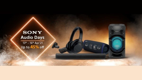 Amazon Sony Audio Days 2021: discount offer for headphones, speakers, home theater and more