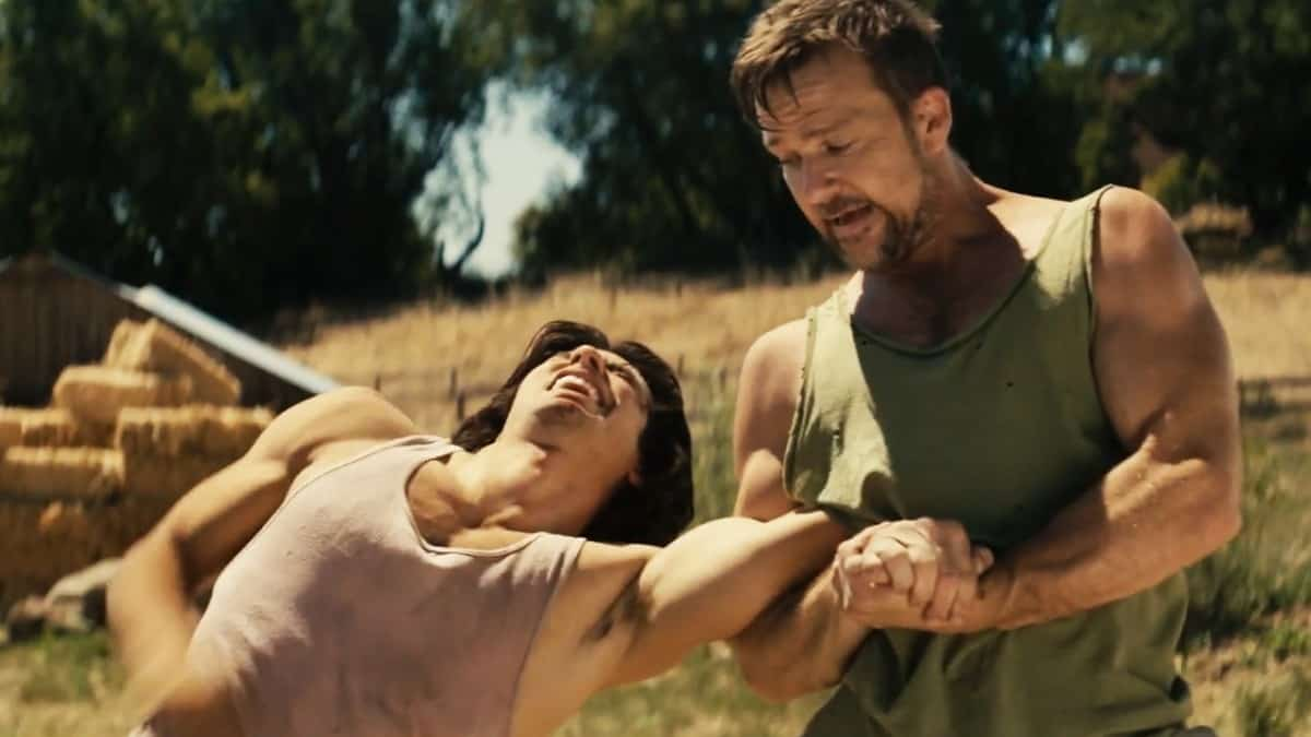 American Fighter's exclusive clip starring Sean Patrick Flanery and George Kosturos