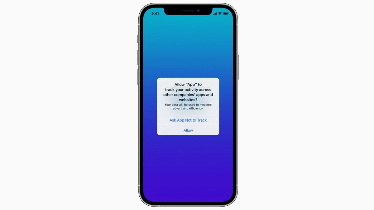 seuranta läpinäkyvyys kuva Apple iOS
