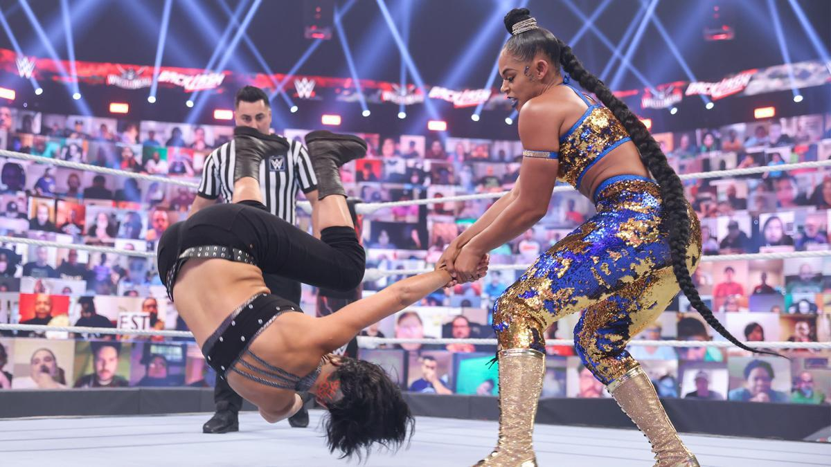 WWE Women, Bianca Belair (c) - For Bayley Smackdown ...