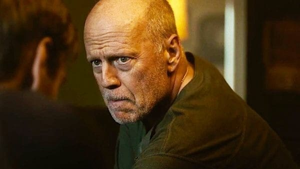 Bruce Willis began the action trilogy Fortress