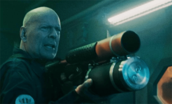 Bruce Willis, Kevin Dillon and Frank Grillo starring in the action thriller A Day to Die