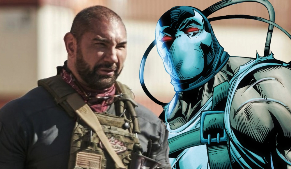Dave Bautista meets DC and sets himself up as Bane