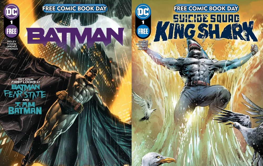 DC will reveal details of its free comic book day 2021 titles