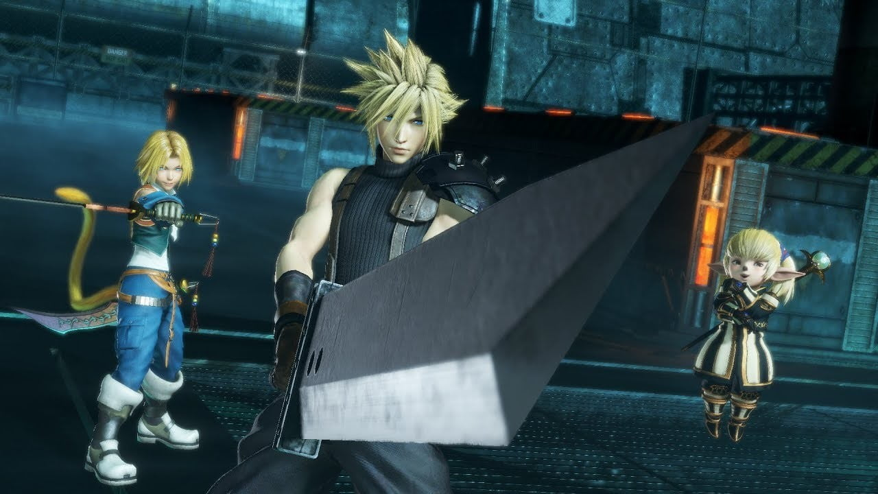 Team Ninja has been developing the Final Fantasy action game recently