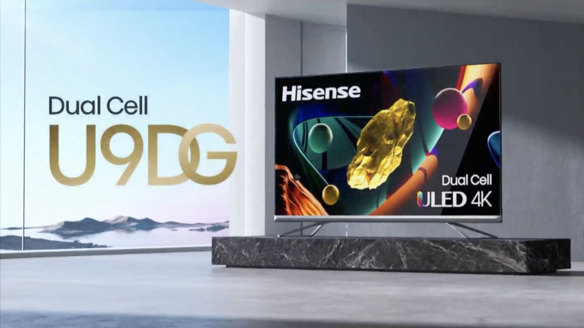 Hisense's next-generation DualCell 4K TVs are finally coming to the United States