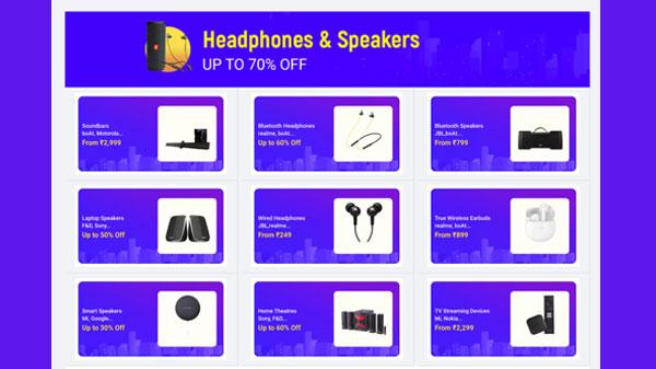 Flipkart Big Saving Day Sale 2021: discount offer for headphones, speakers and more