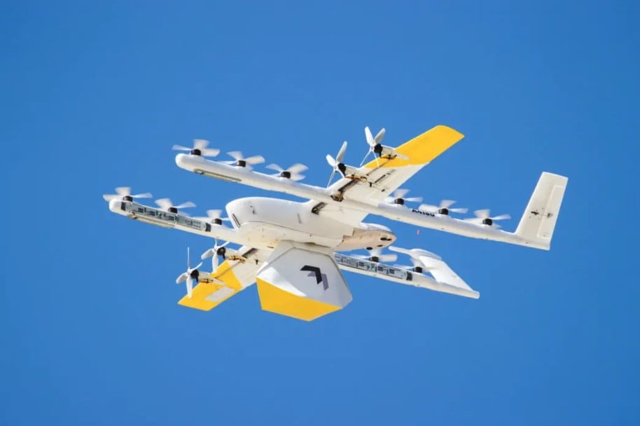 The Drone Delivery Leader wing plans to use quieter aircraft