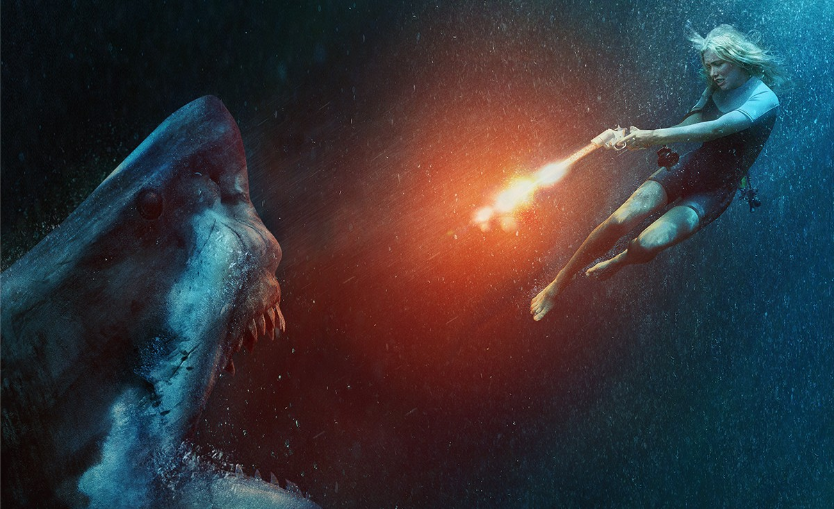 Shark thriller Large white gets a poster, trailer and pictures