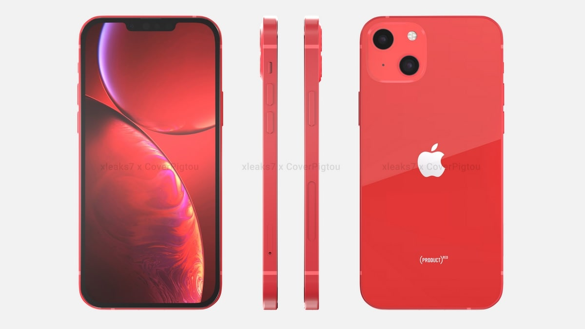 iPhone 13, iPhone 13 Pro Max, iPhone 13 mini design leaked, larger camera cells for Pro Max expected