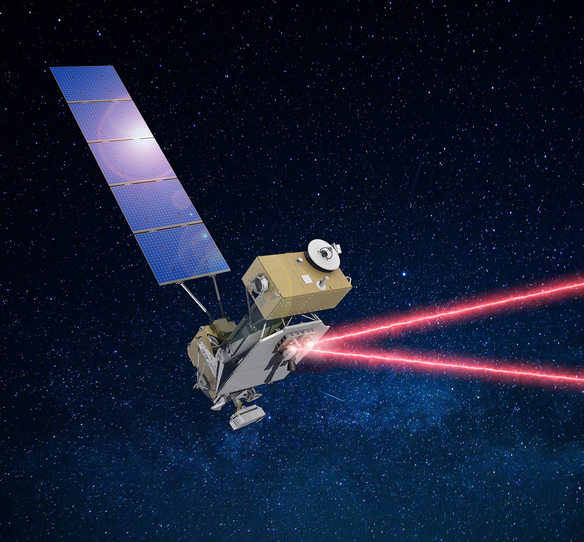 NASA is testing a new laser communications system this summer