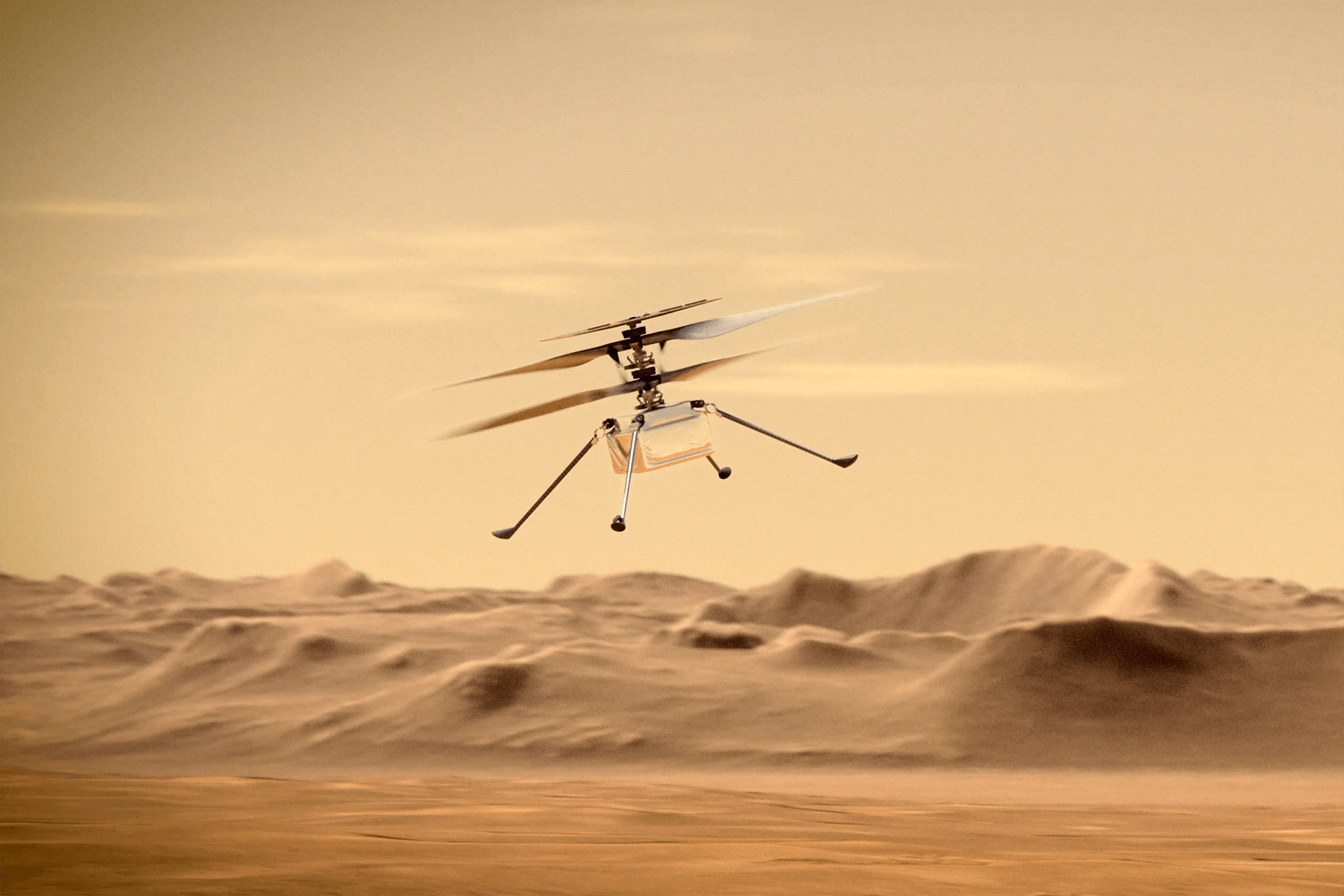 NASA's Mars helicopter aims for two records on the next flight