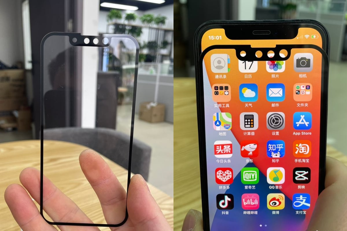 The iPhone 13 may expand mmWave support to more countries, with new leak tips with a less wide notch