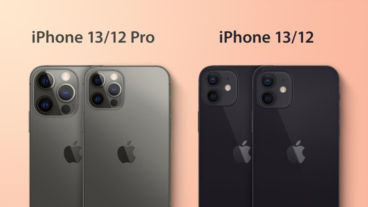 iPhone 13, iPhone 13 Pro thicker;  There are more protruding camera bumps in the iPhone 12 series: Report