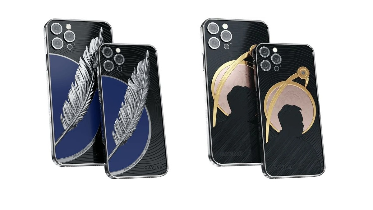 Caviar iPhone Editions pays tribute to SpaceX, founders of Blue Origins Elon Musk, Jeff Bezos