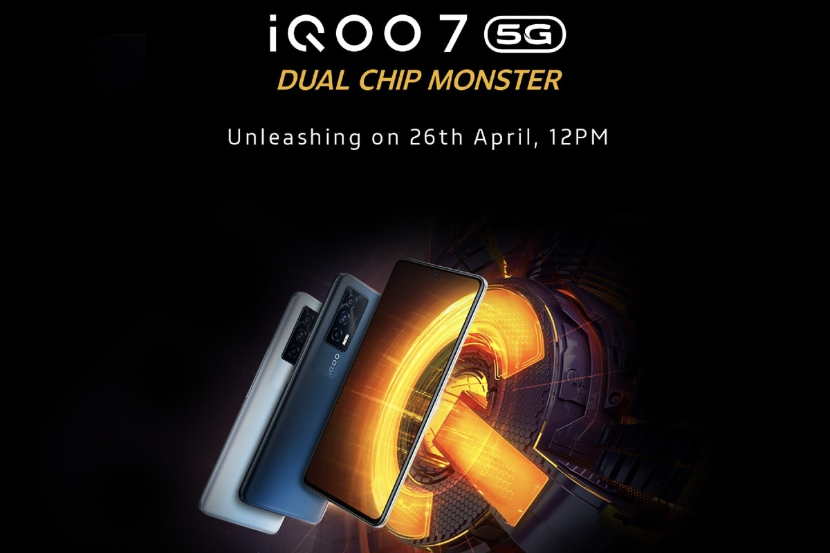 iQoo 7, iQoo 7 Legend India launches today: streaming, expected price, specifications