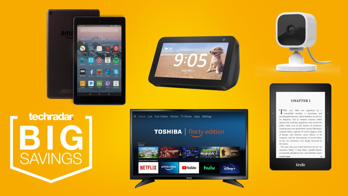 Huge Amazon Sales: Mother's Day Offers on 4K TVs, Echos, Fire Tablets, Kindles and more