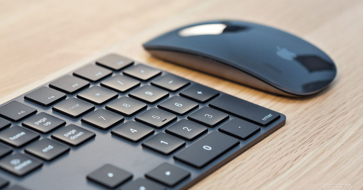 Apple confirms that space gray Magic keyboards and mice will be discontinued