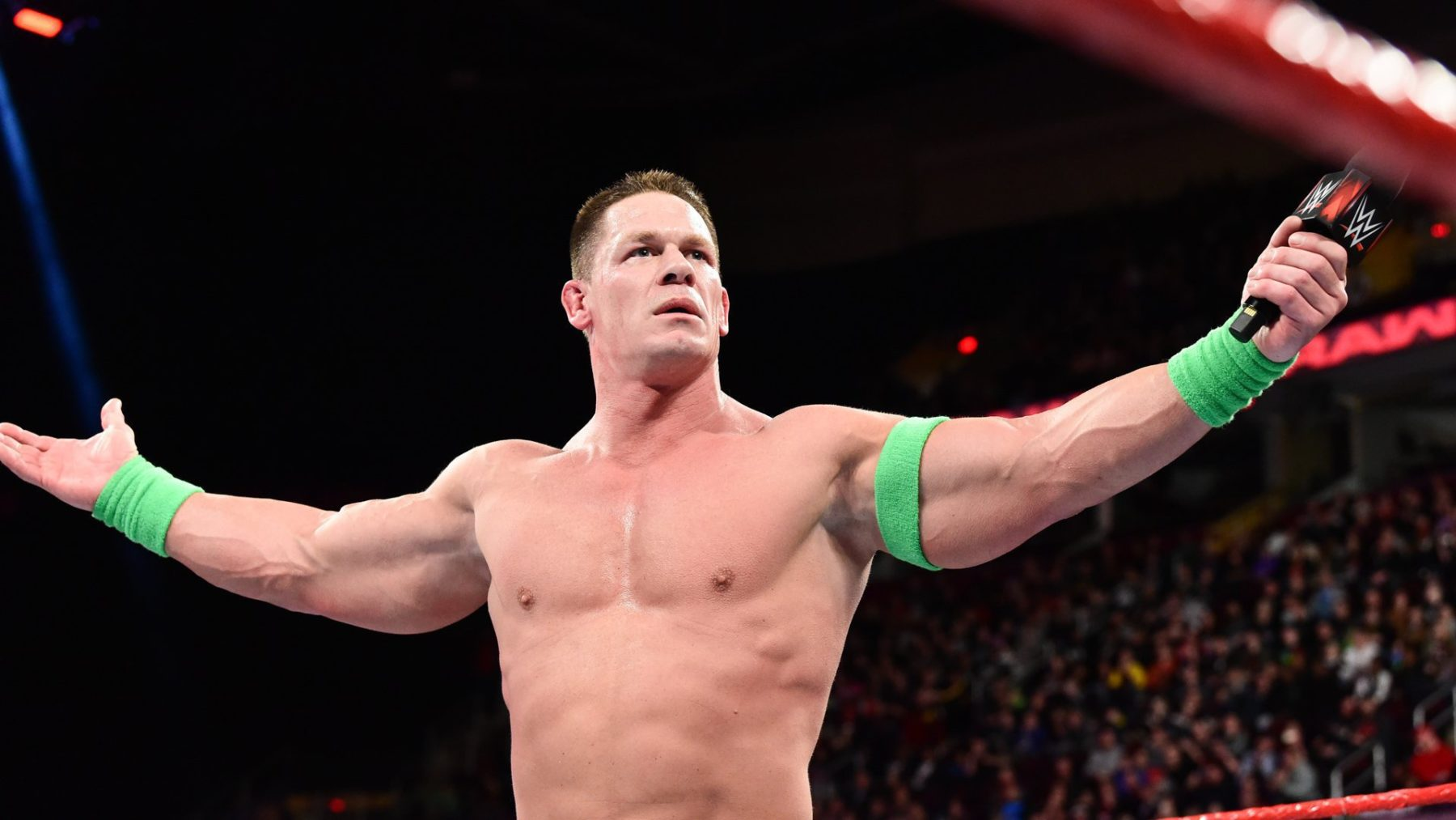 John Cena returns to the world of WWE for the streaming series WWE Evil