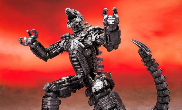 The band Bandain Godzilla vs. Kong SH MonsterArts Mechagodzilla was unveiled