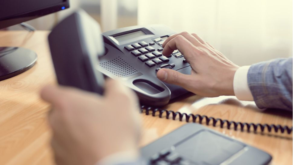 Is it time to hang up a desk phone?