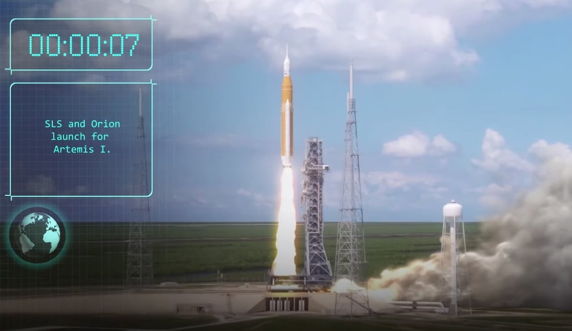 Watch NASA's animation of the upcoming Artemis 1 Moon Mission
