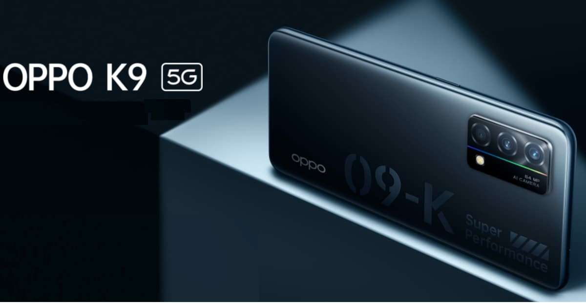 Oppo K9 5G with Snapdragon 768G SoC, 65W quick charge support on official website before release