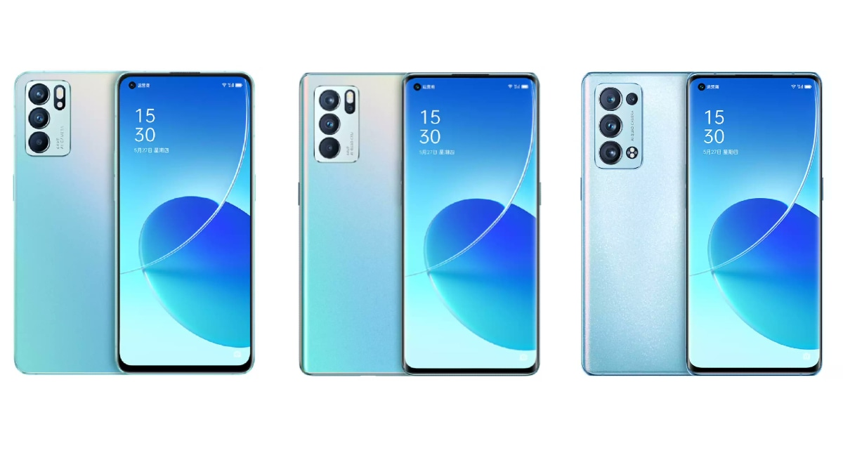 Oppo Reno 6Z specifications tilted;  May come with MediaTek Dimensity 800U SoC, 30 W fast charge