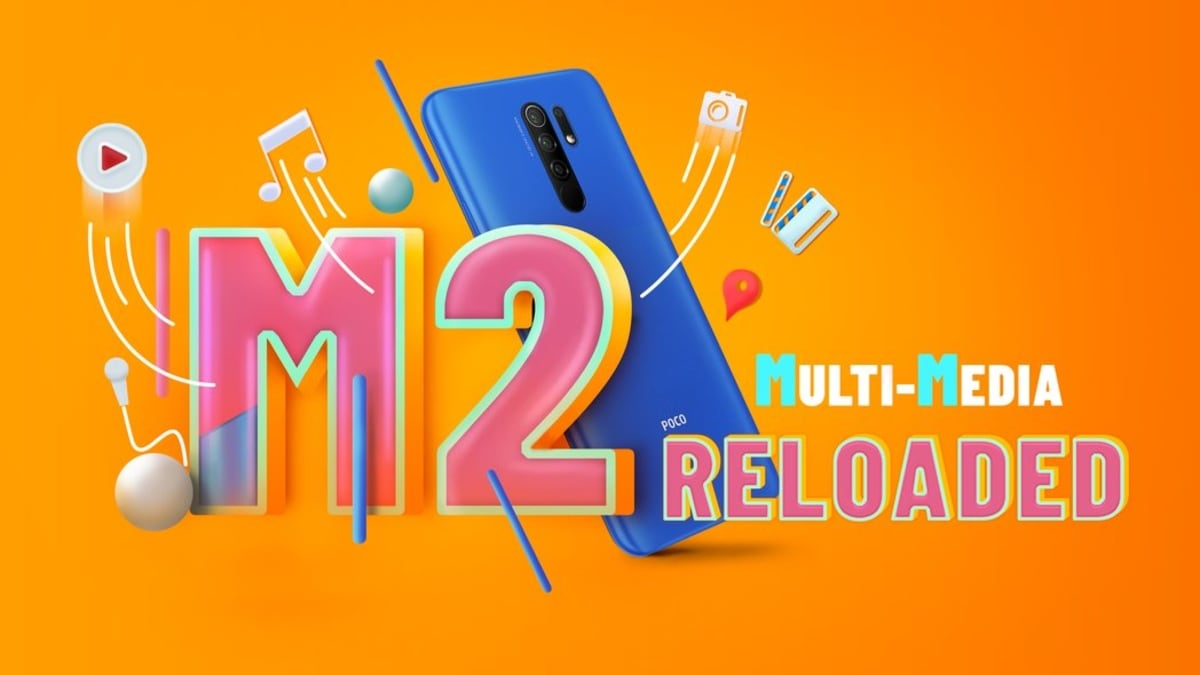 Poco M2 Reloaded India Release Kit April 21, to be resold on Flipkart