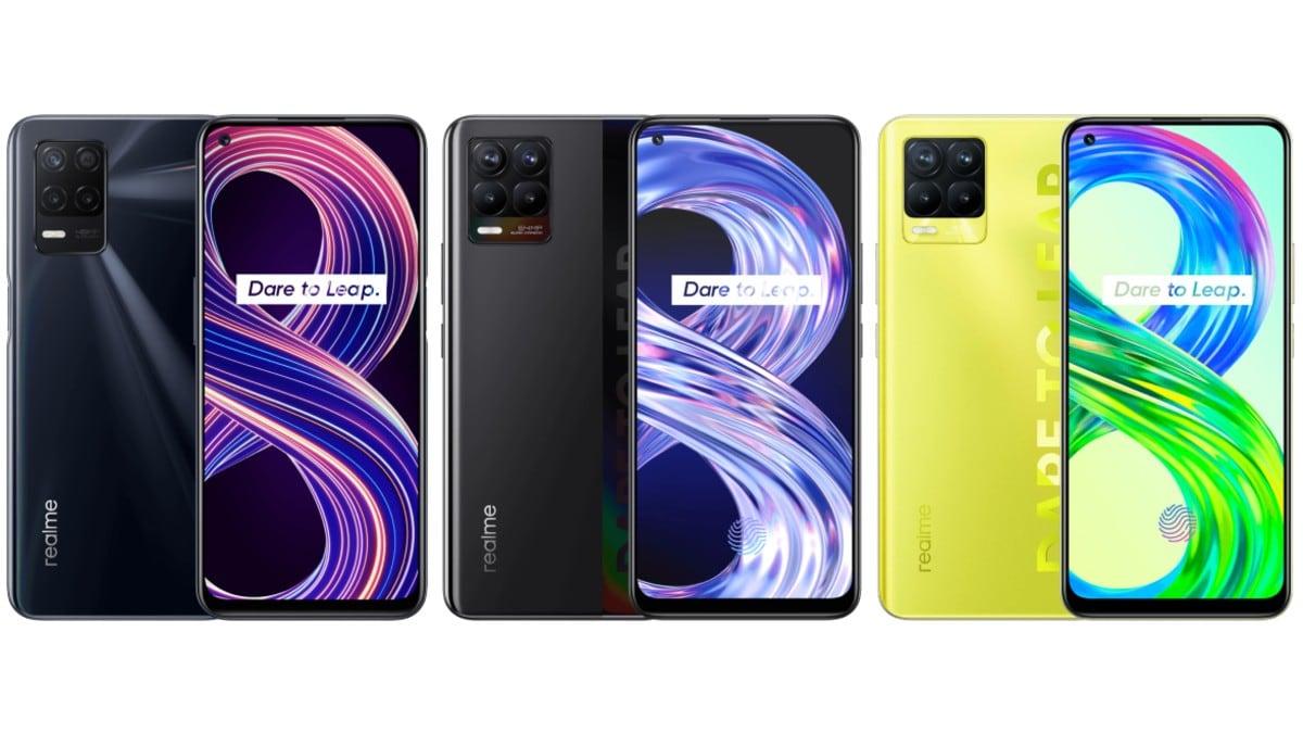 Realme 8 5G vs Realme 8 vs Realme 8 Pro: Price in India, specifications compared