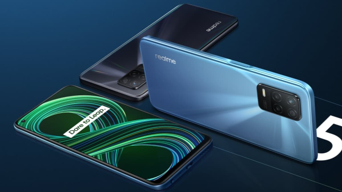 Realme 8 5G will be sold for the first time in India today at 12 noon: price, deals