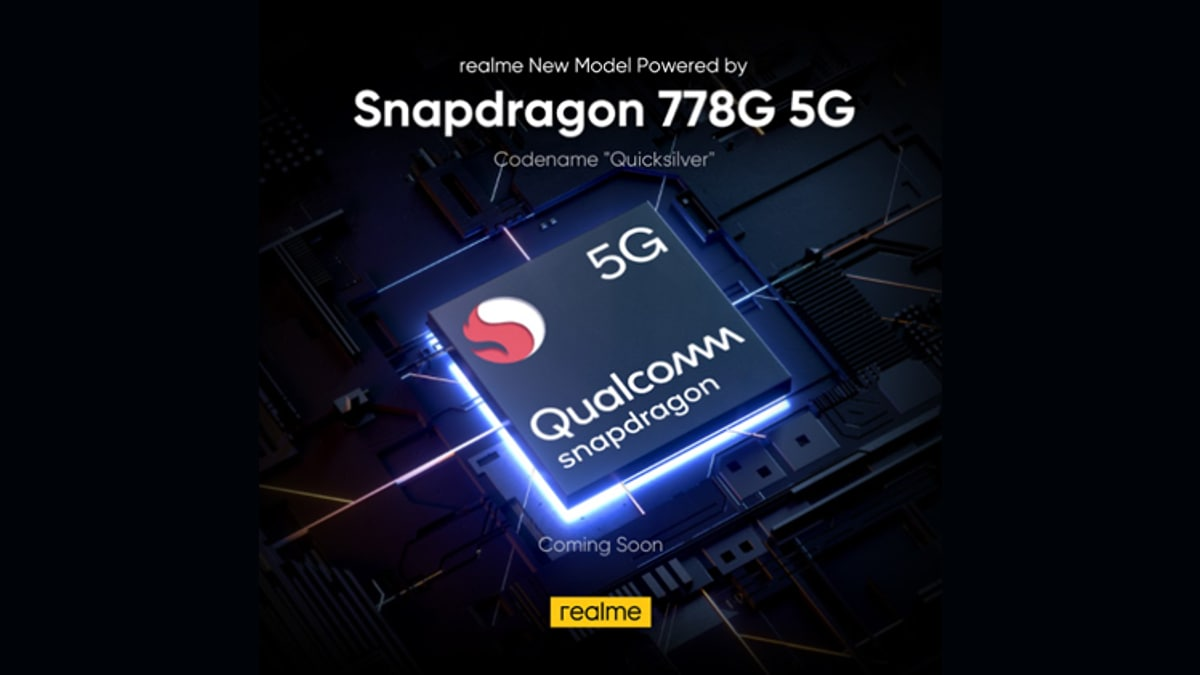 Realme phones with Snapdragon 778G and 870 SoC cells launched on June 18